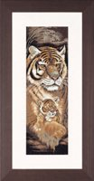 Tiger and Cub - Maternal Instincts - (KIT)